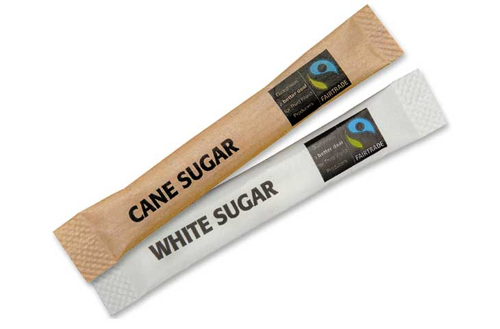 fairtrade sugar stick 3g