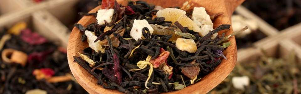 A selection of wholesale herbal tea