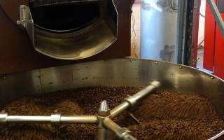 Brown-Roaster-Pollards-Coffee-Beans