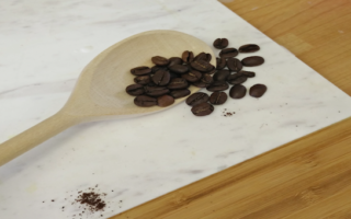 leftover-coffee-beans-uses-cooking-wooden-spoon-baking-ideas-practical-sustainable-blog-feature-pollards-wholesale-coffee-and-tea