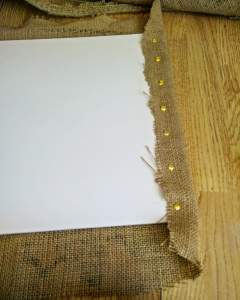 hessian-sack-notice-board-drawing-pin-tack-edges-instructions