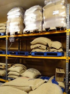 Pollards Coffee Suppliers Warehouse